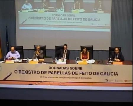 Mesa Redonda - Xornadas sobre o Rexistro de Parellas de Feito de Galicia